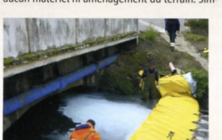 Article dans le magazine des maires de france sur le barrage anti pollution water-gate
