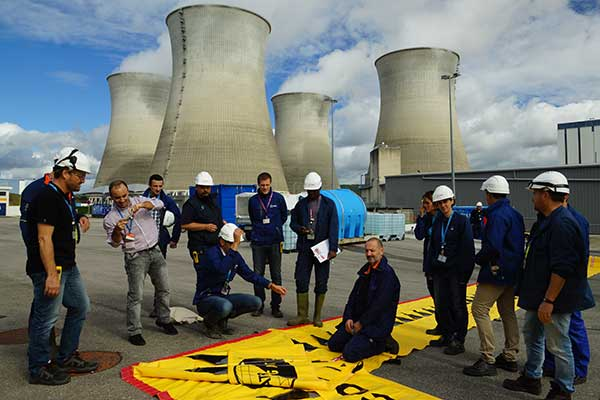 EDF training on flood protection