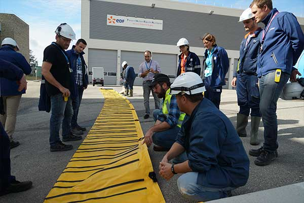 EDF flood protection training