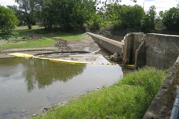 deviation cofferdam river work