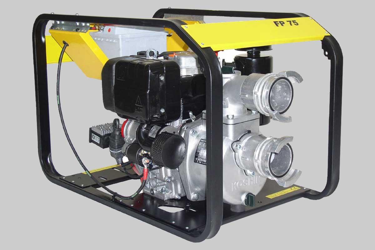 Pumps and motor pumps