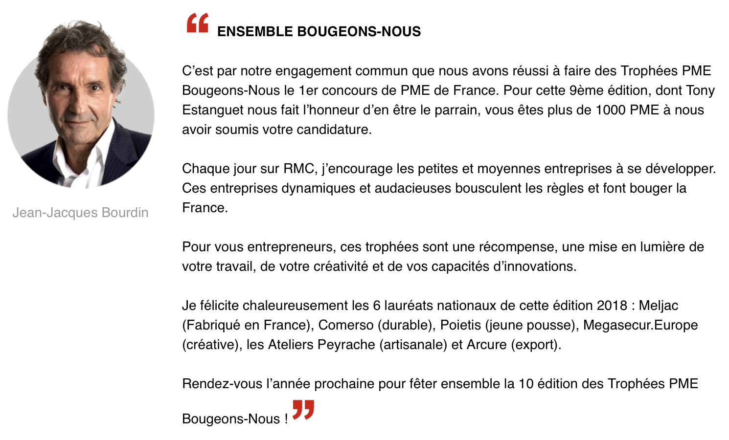 MegaSecurEurope Bourdin RMC