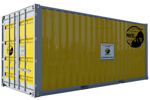 flood protection container